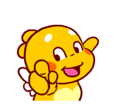 QooBee Agapi ~ ANIMATED Sticker02 sticker #12841902