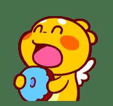 QooBee Agapi ~ ANIMATED Sticker02 sticker #12841905