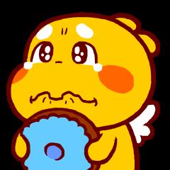 QooBee Agapi ~ ANIMATED Sticker02