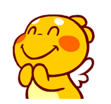 QooBee Agapi ~ ANIMATED Sticker03 sticker #12842254