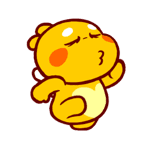 QooBee Agapi ~ ANIMATED Sticker03 sticker #12842260