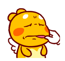 QooBee Agapi ~ ANIMATED Sticker03 sticker #12842266