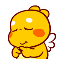 QooBee Agapi ~ ANIMATED Sticker03 sticker #12842275