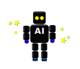artificial intelligence sticker #12844942