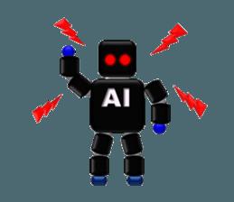 artificial intelligence sticker #12844943
