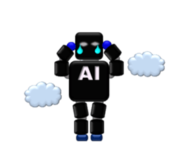 artificial intelligence sticker #12844944