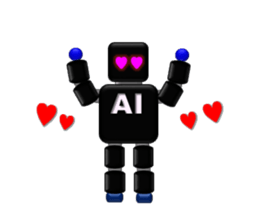 artificial intelligence sticker #12844945