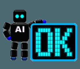 artificial intelligence sticker #12844948