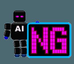 artificial intelligence sticker #12844949