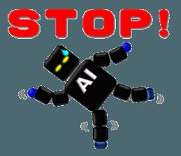 artificial intelligence sticker #12844957