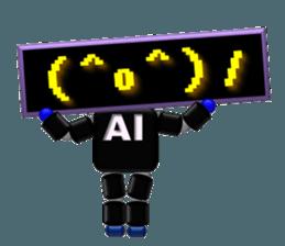 artificial intelligence sticker #12844960