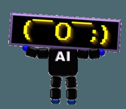 artificial intelligence sticker #12844961