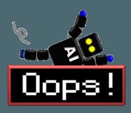 artificial intelligence sticker #12844971