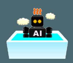 artificial intelligence sticker #12844980