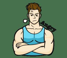 Handsome Guy Zebulon sticker #12848611