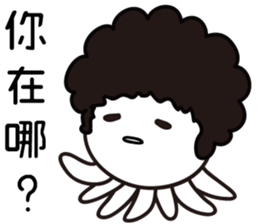 I Love Afro Taco (Chinese version) sticker #12849763