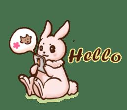 Wolf&Bunny 137 sticker #12851686