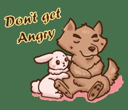 Wolf&Bunny 137 sticker #12851687
