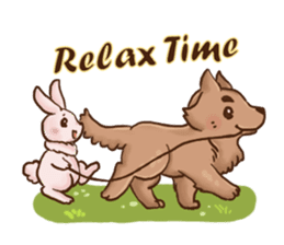 Wolf&Bunny 137 sticker #12851688
