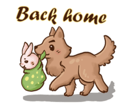 Wolf&Bunny 137 sticker #12851690