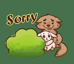 Wolf&Bunny 137 sticker #12851691