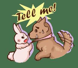 Wolf&Bunny 137 sticker #12851694