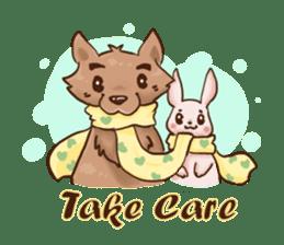 Wolf&Bunny 137 sticker #12851695