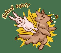 Wolf&Bunny 137 sticker #12851696