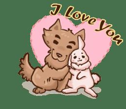 Wolf&Bunny 137 sticker #12851697
