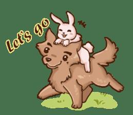 Wolf&Bunny 137 sticker #12851699