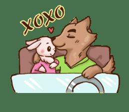 Wolf&Bunny 137 sticker #12851704