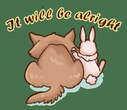Wolf&Bunny 137 sticker #12851709