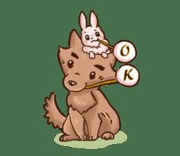 Wolf&Bunny 137 sticker #12851710