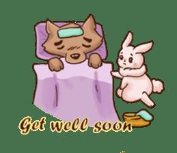 Wolf&Bunny 137 sticker #12851711