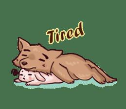 Wolf&Bunny 137 sticker #12851713