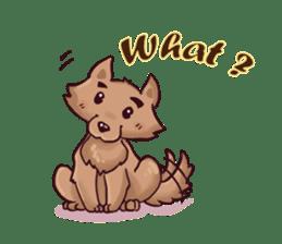 Wolf&Bunny 137 sticker #12851718
