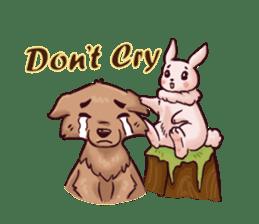 Wolf&Bunny 137 sticker #12851719