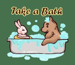 Wolf&Bunny 137 sticker #12851721