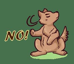 Wolf&Bunny 137 sticker #12851722
