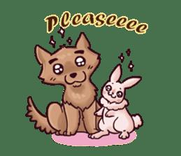 Wolf&Bunny 137 sticker #12851723