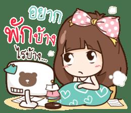 Milin a Cute office lady sticker #12855016