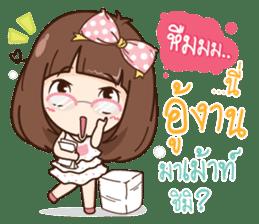 Milin a Cute office lady sticker #12855022