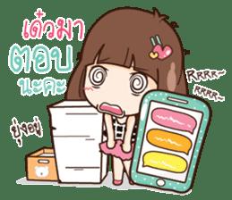 Milin a Cute office lady sticker #12855041