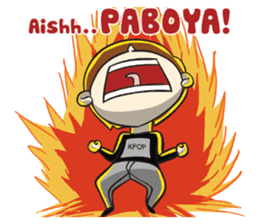 Chibi Kpop Korean Fanboy sticker #12864118