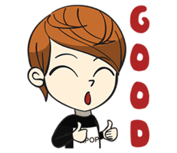 Chibi Kpop Korean Fanboy sticker #12864134