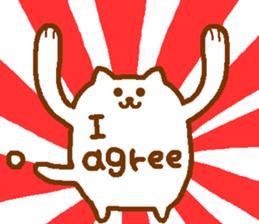 Instead of my words sticker sticker #12866552