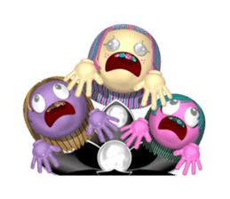 Aroma Monster (party) sticker #12871583