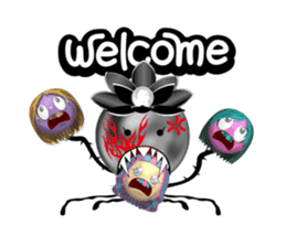 Aroma Monster (party) sticker #12871589
