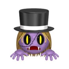 Aroma Monster (party) sticker #12871590