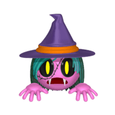 Aroma Monster (party) sticker #12871591